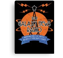 Galaxy News Radio Canvas Print