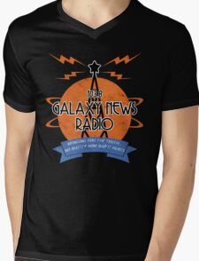 Galaxy News Radio Mens V-Neck T-Shirt
