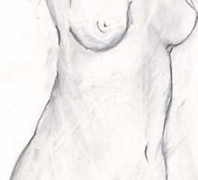 Rough Sketch Nude by Wizadora Wilkinson