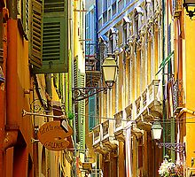 The Old Town Of Nice by Fara