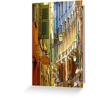 The Old Town Of Nice Greeting Card