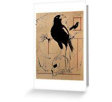"""""""Hamlet's Revenge"""" Greeting Card"""
