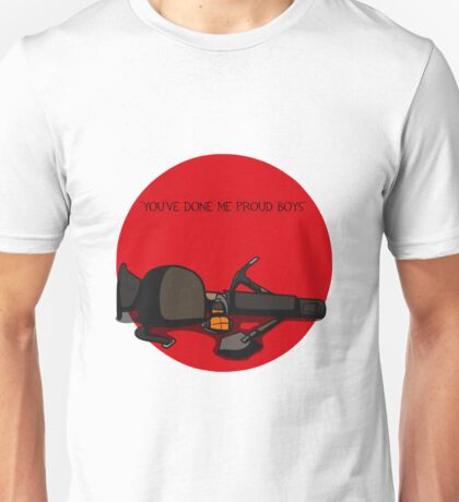 TF2 RED soldier gear QUOTE Unisex T-Shirt