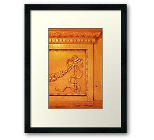 1036 Everett Ave Louisville / Fireplace Mantle Framed Print
