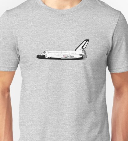 The Space Shuttle Nasa Unisex T-Shirt
