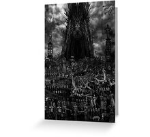 VISION OF HELL Greeting Card
