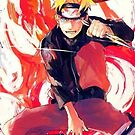 Naruto Fire- iPhone Case by squidkid
