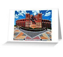 "108. ""Unconquered. (Doak Campbell Stadium, Florida State University)."" Greeting Card"
