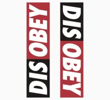 Disobey ×2 by posx ★ $1.49 stickers