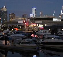 Dusk at New Quay - Melbourne, May 2013 by brendanscully