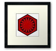 Star Wars: First Order Emblem Framed Print
