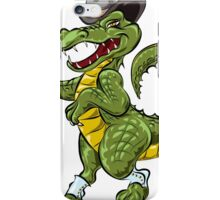 The Dandy Crocodile iPhone Case/Skin