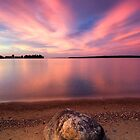The Pink End, Leech Lake by Michael Treloar