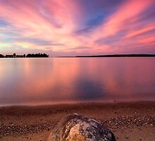 The Pink End, Leech Lake by Michael Treloar