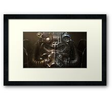 fallout 4 suit scan Framed Print