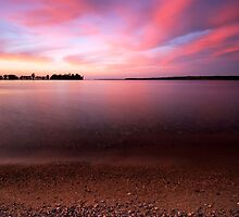 Serenity, Leech Lake by Michael Treloar