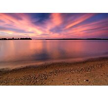 Serenity II, Leech Lake Photographic Print