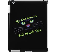 My Confidential Cat iPad Case/Skin