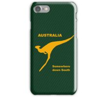 Somewhere Down South - Large Logo iPhone Case/Skin