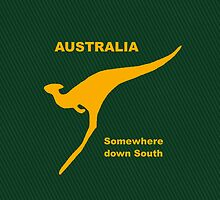 Somewhere Down South - Large Logo by Ron Marton