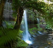 Russell Falls Tasmanaia by marty1468