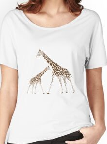 Animal Giraffe Picture Women's Relaxed Fit T-Shirt