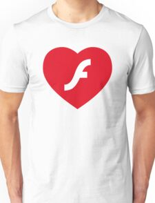 Flash Love Unisex T-Shirt