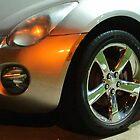 Shiny Silver Car by Guy Ricketts