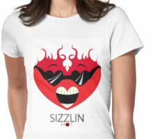 Sizzling Hot Heart(Shades) Womens Fitted T-Shirt