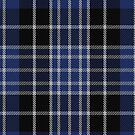 10009 Clark Clan Tartan Fabric Print Ipad Case by Detnecs2013