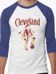 Captain Cleveland - Dark Men's Baseball ¾ T-Shirt