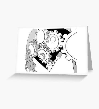 mechanism Greeting Card