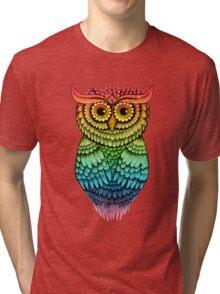 'Owlbert' Tri-blend T-Shirt