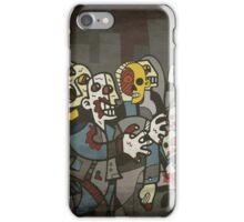 Zombie Parade iPhone Case/Skin