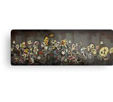 Zombie Parade Metal Print