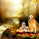 Golden Family by Angelgold Art