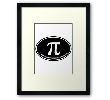 PI - Euro Sticker - Alternate Framed Print