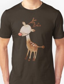 Rudolf the reindeer Unisex T-Shirt