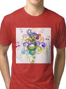 Music in the air Tri-blend T-Shirt