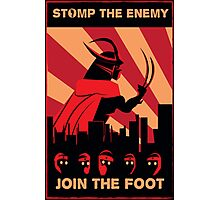 The Foot wants you! Photographic Print