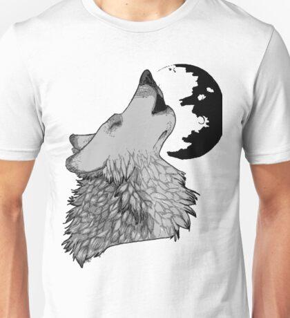 Wolf Howl Unisex T-Shirt