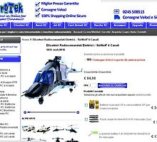 Electric Radio Control Helicopters - 'AirWolf' 4 Channels by berrymartin