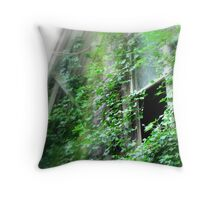 Memories In Green...Poulsbo, Washington Throw Pillow