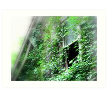 Memories In Green...Poulsbo, Washington Art Print