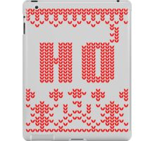 Ugly Christmas Sweater Nordic pattern Ho 3 iPad Case/Skin