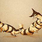 Furret War Dance by Ashley Dadoun