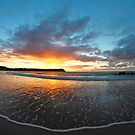 Coles Beach Fisheye by Damon Colbeck