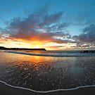 Coles Beach Fisheye by Damon Colbeck