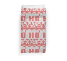 Ugly Christmas Sweater Nordic pattern Ho 3 Duvet Cover