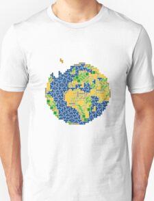 tetris earth  T-Shirt